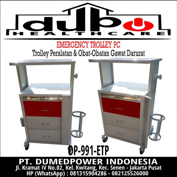 Emergency Trolley PC DP-991-ETP