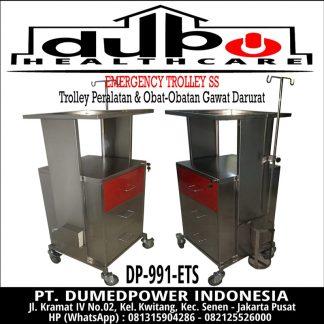 Emergency Trolley Stainless Steel DP-991-ETS