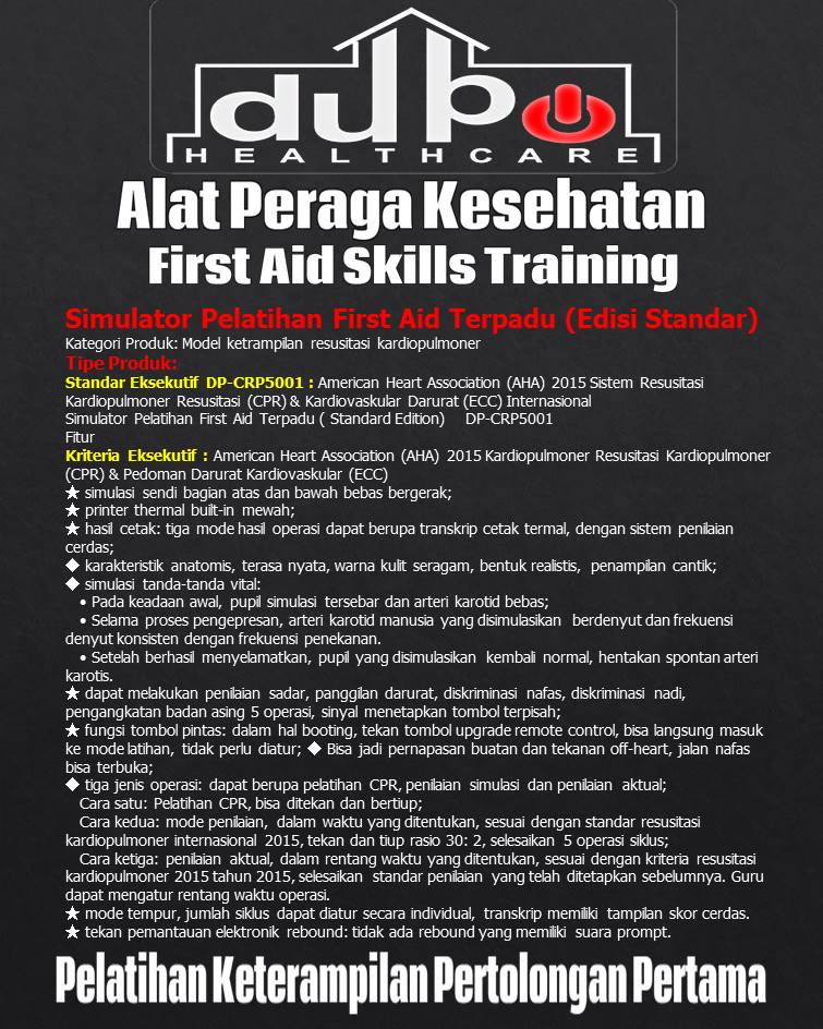 Phantom Integrated First Aid Training Simulator Standard Edition - CRP5001 Hal-02