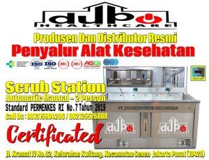 Scrub-Station-2-Person-Manual-Automatic-DuPo-Healthcare